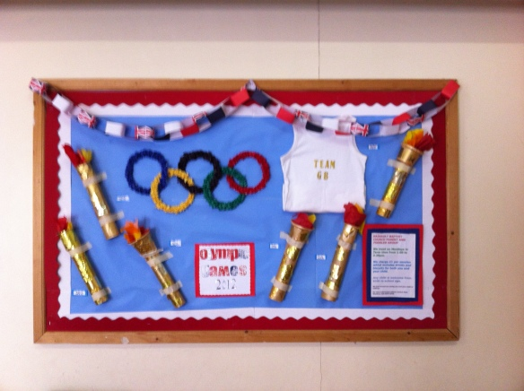 Olympic Notice Board